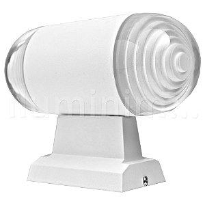 Luminária Arandela LED 18W Branco Quente Interna