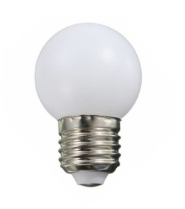 Lâmpada LED Bolinha 1w Branco Frio | Inmetro