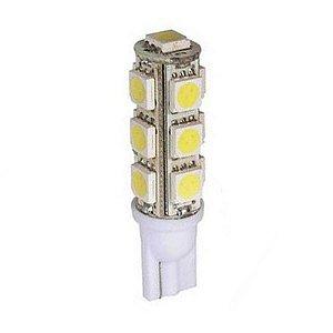 Lâmpada LED Automotiva T10 5W Pingo 13 Leds Branco Frio