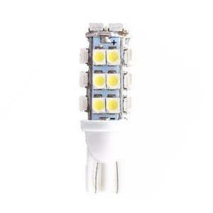 Lâmpada LED Automotiva T10 5W Pingo 28 Leds Branco Frio