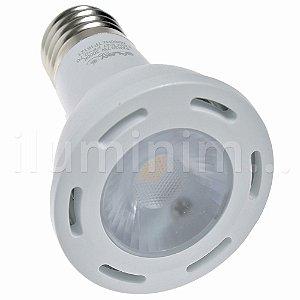 Lâmpada LED Par20 7W Dimerizável E27 127V Branco Quente