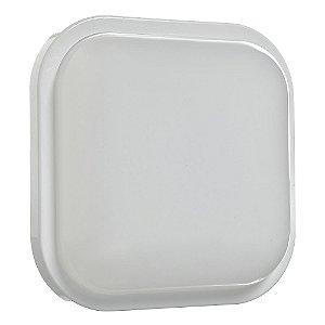 Luminária Arandela LED Quadrada 15W Bivolt Branco Frio