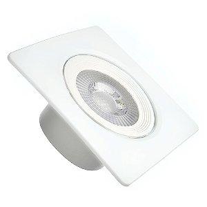 Spot LED SMD 5W Quadrado Branco Quente