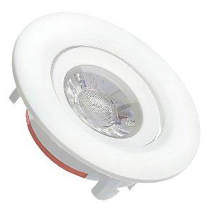 Spot LED SMD 3W Redondo Branco Frio