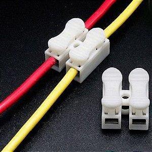 Conector de Fio LED 2 Vias - Sem Solda