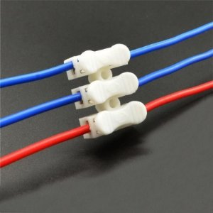 Conector de Fio LED 3 Vias - Sem Solda