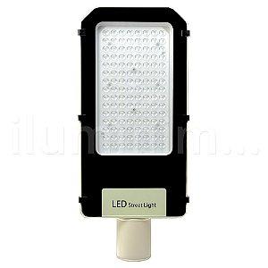 Luminária Pública Ultra LED SMD 100w Branco Frio