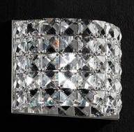 Luminária Arandela LED Cristal 15x15 Interna