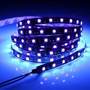 Fita LED 5050 Luz Negra Ultravioleta 5 Metros IP30 - 72W