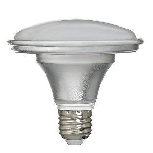 Lâmpada LED Prato 12W Bivolt Prateada Branco Neutro | Inmetro