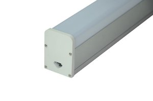 Luminária LED 48w Perfil Linear Retangular de Sobrepor 150cm