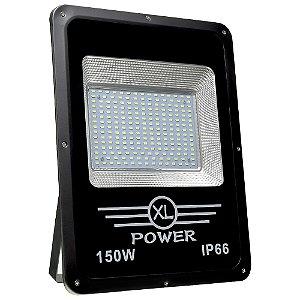 Refletor Holofote MicroLED Slim 150W Branco Frio