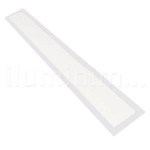 Luminária Plafon LED 15x120 36w Embutir Branco Frio