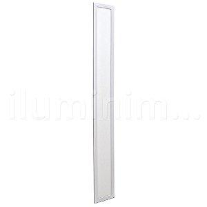 Luminária Plafon LED 15x120 36w Embutir Branco Quente