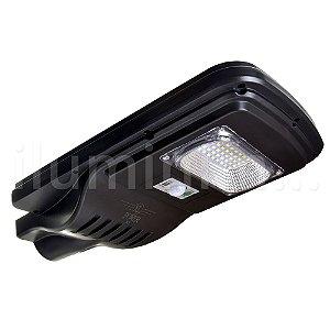 Luminária Solar LED 20w para Poste Branco Frio com Sensor