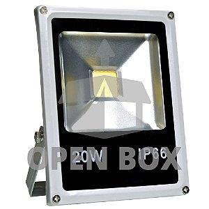 Refletor Holofote LED 20w Branco Frio - Open Box