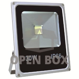 Refletor Holofote LED 30w Branco Frio - Open Box