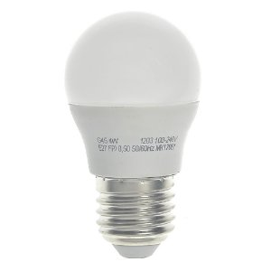 Lâmpada LED Bolinha 3w Branco Quente | Inmetro