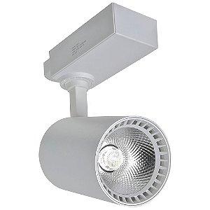 Spot LED 24W Branco Neutro para Trilho Eletrificado Branco