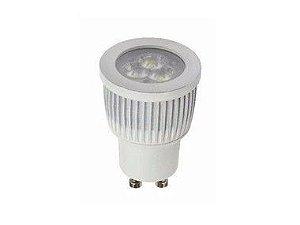 Lâmpada LED Dicroica MR11 3w Branco Quente | Inmetro