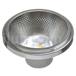 Lâmpada LED AR111 10W de Embutir Branco Quente