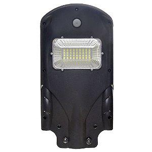 Luminária Pública Solar LED 20w Branco Frio com Sensor