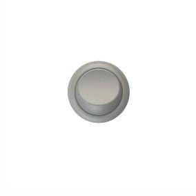 Interruptor Simples Bolinha de Embutir Cor Cinza