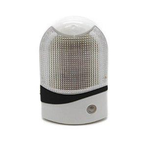 Abajur de Tomada 4 LEDS com Sensor de Iluminação