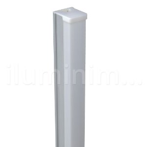 Lâmpada LED Tubular T8 18W 1,20m c/ Calha - Branco Quente | Inmetro