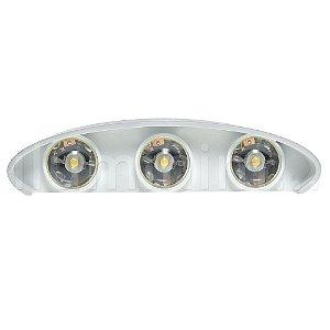 Luminária Arandela LED 6W Branco Quente Externa - Branca