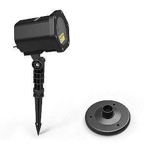 Espeto de Jardim LED 5W Laser Projetor com Controle