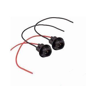 Soquete para Lâmpada Pingo T10 LED com Chicote