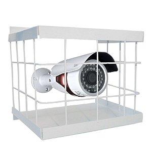 Grade de Proteção para Câmera de Segurança CFTV Quadrada