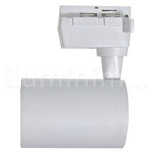 Kit Trilho Eletrificado 1m + 2 Spot LED 10W Branco Quente Branco