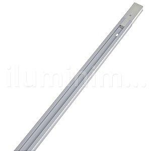 Kit Trilho Eletrificado 1,5m + 3 Spot LED 10W Branco Quente Branco