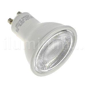 Lâmpada Dicroica LED GU10 6,5w Branco Quente | Inmetro