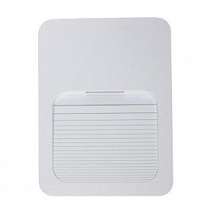Balizador LED 2W De Sobrepor Branco Frio Branco
