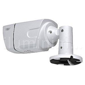 Kit 4 Câmera Segurança de LED IP Bullet Infravermelho PoE