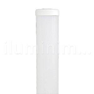 Luminária LED 18W Perfil Linear Retangular de Sobrepor 60cm