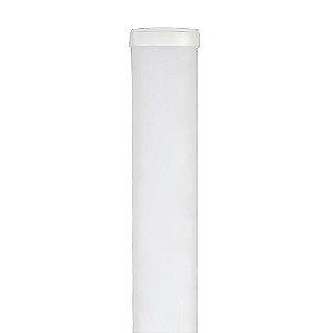 Luminária LED 36W Perfil Linear Retangular de Sobrepor 120cm