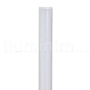 Lampada LED Tubular T5 9w - 60cm c/ Calha - Branco Frio | Inmetro
