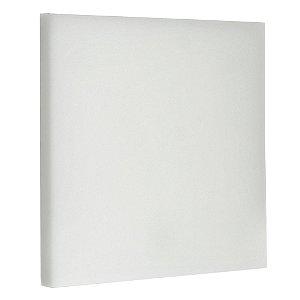 Luminária Plafon LED 18W Embutir Quadrada Branco Frio Borda Infinita