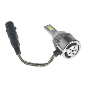 Kit Farol LED C6 HB3 Automotivo com Cooler 6500K