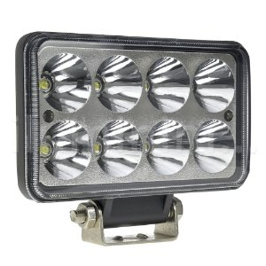 Farol de Milha LED Retangular 24W IP68 Automotivo