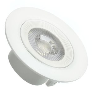 Spot LED SMD 7W Redondo Branco Frio