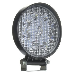 Farol de Milha LED Redondo 27W IP68 Automotivo