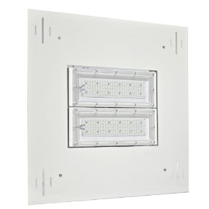 Luminária LED Posto de Gasolina 80W