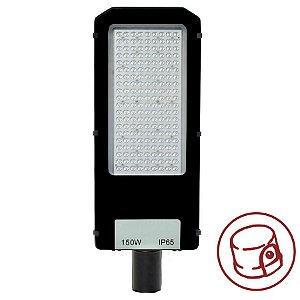 Luminária Pública Ultra LED SMD 150w Branco Frio Fotoeletrico