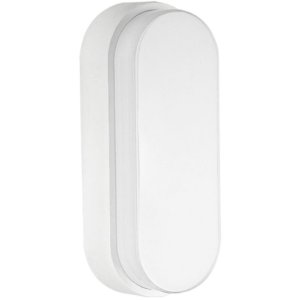 Luminaria Arandela LED 8W Sobrepor Branco Quente Tartaruga