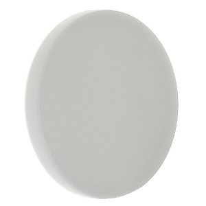 Luminária Plafon LED 24W Embutir Redonda Branco Neutro Borda Infinita